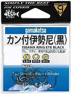 がまかつ(Gamakatsu) カン付伊勢尼(黒) 14号