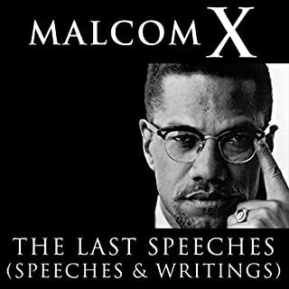 Malcolm X: The Last Speeches audiobook cover art
