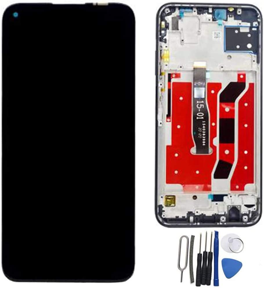 SOMEFUN LCD Display Digitizer Touch Screen Glass Panel Assembly Replacement for Huawei P40 Lite JNY-LX1 JNY-L21A JNY-L01A JNY-L21B JNY-L22A JNY-L02A JNY-L22B 6.4