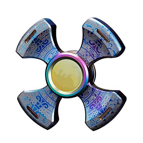 Fingertip Spinner Single Finger Schnelle Lager Pure Steel EDC Finger Schraube Toy Hand Tri Spinner Top Kreatives Spielzeug Hand Spinner (Size : C)