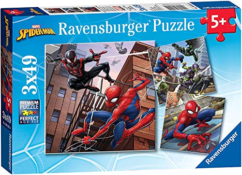 Ravensburger Spiderman 3 in a Box Jigsaw Puzzles
