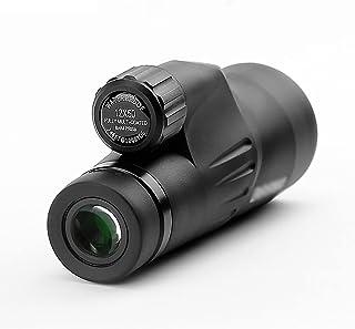 HD Monocular 12x50 أحادي تلسكوب مع محول الهاتف ترايبود ماء أحادي للطيور مشاهدة السفر الحفل لعبة Portable