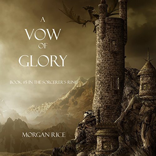 A Vow of Glory audiobook cover art