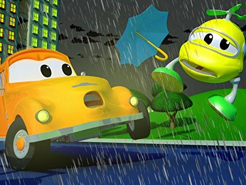Klein Hektor der Helikopter wird von einem fliegenden Regenschirm getroffen / Mat das Polizeiauto trifft Penny das Flugzeug beim Golfspielen mit einem Golfball!