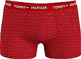Tommy Hilfiger Trunk Print Bañadores Ajustados para Hombre, Tommy/Superposición/AOP, XL