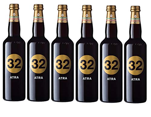 32 Via dei Birrai ATRA Cerveza Artesanal Italiana [ 6 BOTELLAS x 750ml ]