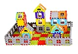 Radhey Preet 079 Construction Block Set, Made from Good Plastic Material. Attractive Color of blocks, and good material of plastic. It will increase your Child's eye and hand coordination, imagination and thought process, time management, and imagina...