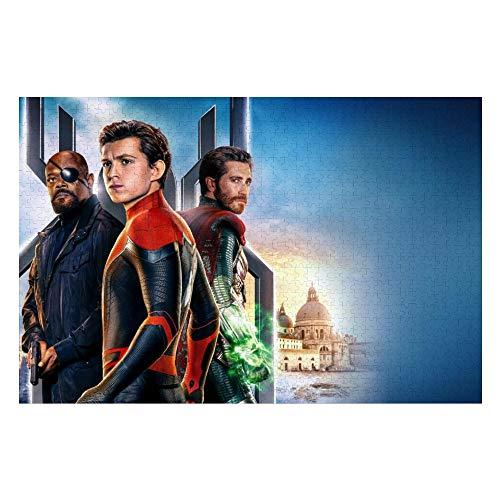 Wooden Jigsaw Puzzles Adults, Ant-Man Captain America Civil War GiantMan Spiderman Iron Man Batman (55), Challenge and Fun, for Teens Kids, 500 pcs