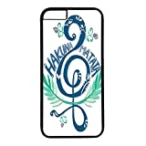 iphone 6 plus case,iphone 6 plus pc black case fashion Style Fancy Colorful Pattern Back Case Cover Fit for iphone 6 plus (5.5Inch),Hakuna Matata quotes