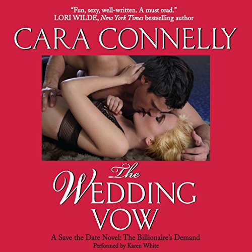 The Wedding Vow audiobook cover art