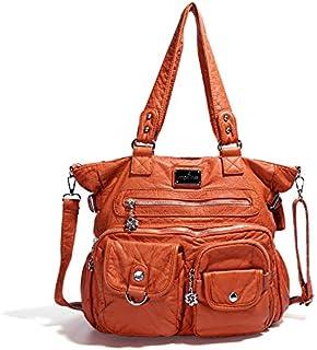 Women Soft Leather Hobo Handbags Luxury Large Capacity Shoulder Bags Shopping Bag