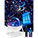 One Fire Star Projector Night Light with Bluetooth Music Speaker