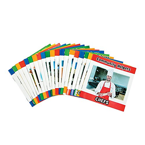 Fun Express Community Helper Reader Booklets - Set of 20 - Educational and Learning Activities for Kids