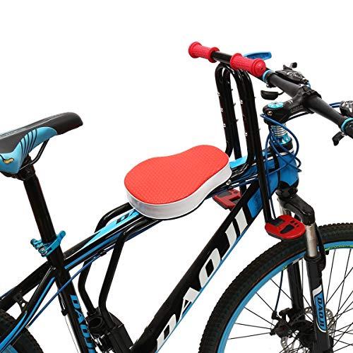 MXBIN Estable Seguridad del Asiento del niño del bebé Frente de la Bicicleta de Ciclo del Tubo del Frente Niños Montar de la Bici Asiento de la Silla Herramienta de reparación de Piezas de Accesorios