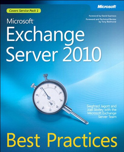 Microsoft Exchange Server 2010 Best Practices (IT Best Practices - Microsoft Press) (English Edition)