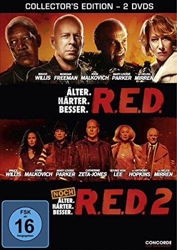R.E.D. - Älter. Härter. Besser. / R.E.D. 2 - Noch älter. Härter. Besser. [Collector's Edition] [2 DVDs]