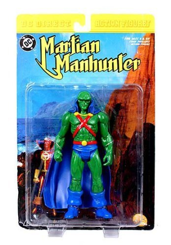 Martian Manhunter Action Figure (NM Package) by DC Comics