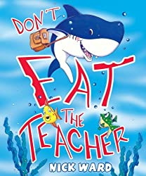 Don't Eat the Teacher book review. Funny back to school book!