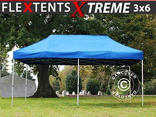 Dancover Pop up gazebo FleXtents Pop up canopy Folding tent Xtreme 60 3x6 m Blue
