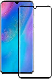 Tempered Glass For Huawei P30 Pro Full Screen Protector - Black Frame