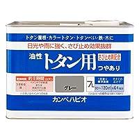 カンペハピオ 油性トタン用 グレー  7L