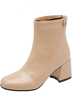 BalaMasa Womens ABS13950 Pu Boots