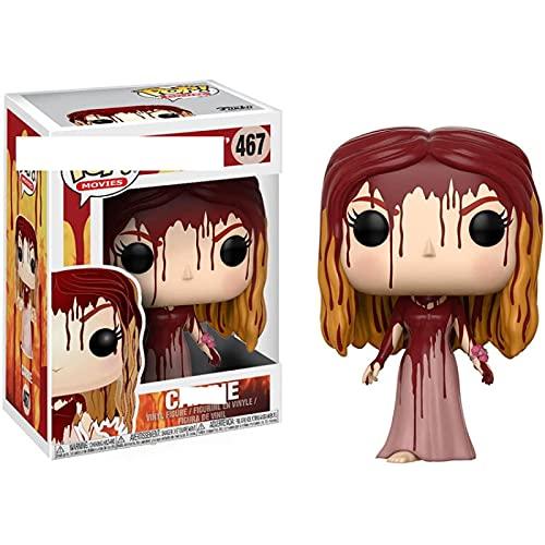 QIYV Pop Movie Kawaii Q Version Nendoroid Anime Figura Witch Carrie 467 # Figuras De Acción De Vinilo Pop En Caja Juguete 10Cm, Regalos De Cumpleaños para Niños