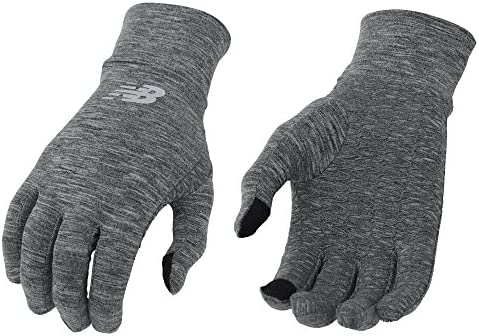 New Balance Lightweight Running Gloves Cyclone Heather Large product image