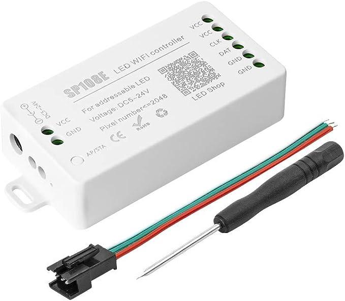 829 opinioni per BTF-LIGHITNG WS2812B WIFI SP108E Controller, Supporto WS2811 SK6812 WS2813