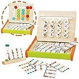 jerryvon Juguetes Montessori de Madera - Puzzle Juego Logica Juegos Educativos...