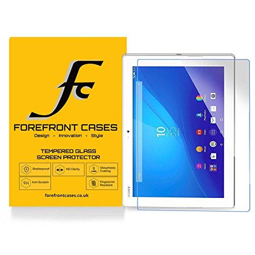 Forefront Hülles® [HD KLARHEIT] Gehärtetes Glas Display Schutz Protektor Folie für Sony Xperia Z4 10.1 SGP771 [Ultra DÜNN nur 0.3mm]