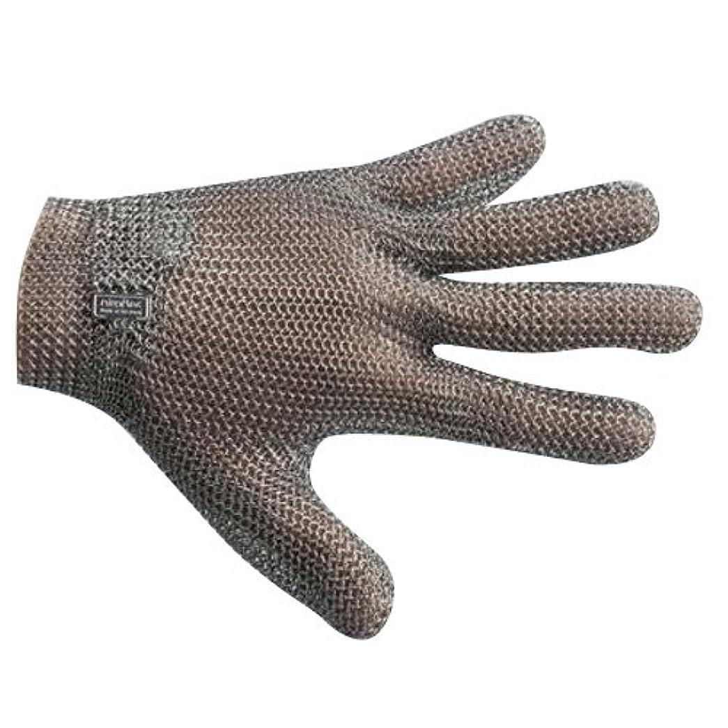 耳伝導用心宇都宮製作 GU-2500 ステンレスメッシュ手袋 5本指(左右兼用) L