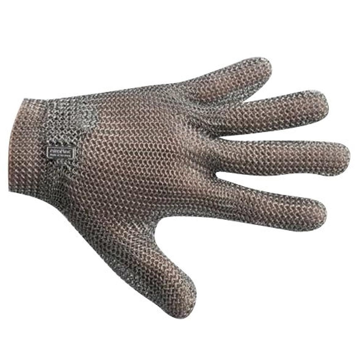 コメントまでポゴスティックジャンプ宇都宮製作 GU-2500 ステンレスメッシュ手袋 5本指(左右兼用) L