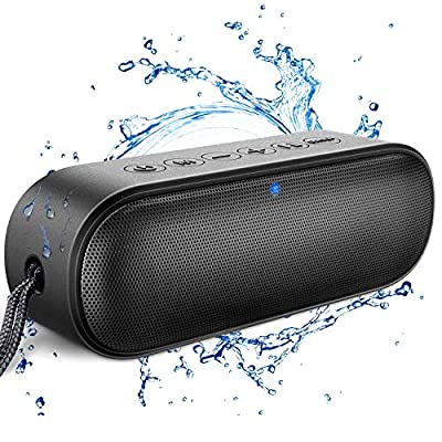 Loud Series Bluetooth Speaker, LENRUE Outdoor Enhanced IPX7 Waterproof Portable Speakers with Rich Bass, 14W HD Sound, 20-Hour Playtime, Wireless Speaker Soundbar for Shower, Party, BBQ, Home, Travel by LENRUE
