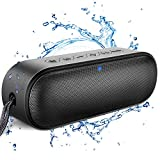 Loud Series Bluetooth Speaker, LENRUE Outdoor Enhanced IPX7 Waterproof Portable Speakers with Rich
