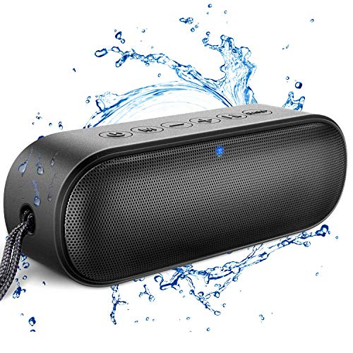 Loud Series Bluetooth Speaker, LENRUE Outdoor Enhanced IPX7 Waterproof Portable Speakers with Rich Bass, 14W HD Sound, 20-Hour Playtime, Wireless Speaker Soundbar for Shower, Party, BBQ, Home, Travel