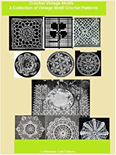 Crochet a Collection of Vintage Motifs - 10 Motif Crochet Patterns
