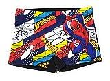 Spíderman Bañador Bóxer para Niños - Bañador Marvel Tipo Boxer para Playa o Piscina (Negro, 4/5 años, 4_Years)