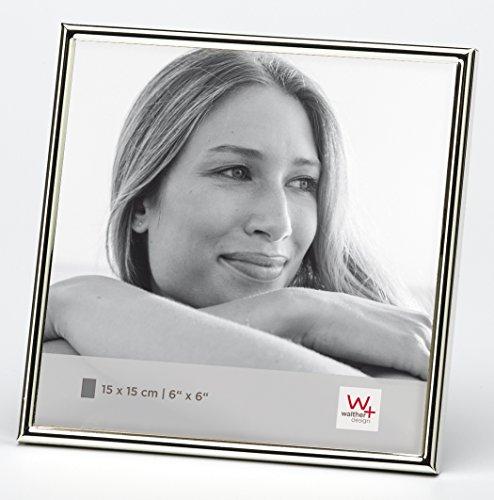 walther design WD515S Chloe Portraitrahmen 15x15 cm, silber