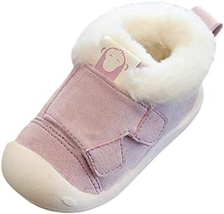 Chausson Enfant Peluche Lapin Pantoufles Hiver Fille Gar/çon Chaussures Maison B/éb/é Chaud Coton Antid/érapant Chaussons dhiver pour Enfants Pantoufle Animaux KUDIDO Pantoufle Maison pour B/éb/é