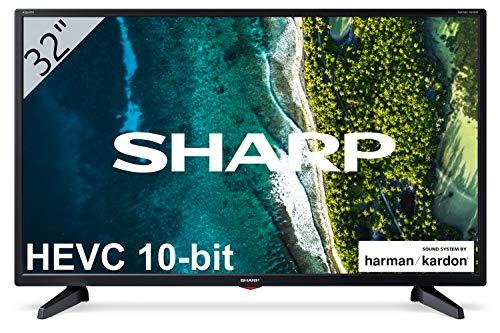 Sharp 32CB3E - TV 32 Pulgadas 32' (resolución 1368 x 720, 3X HDMI, 2X USB) Color Negro
