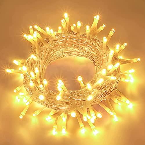 LED Lichterkette Batterie Außen, FilFom 2✖6m 50LED Micro Lichterkette Draht Innen Batteriebetrieben mit 9 Modis, IP65 Wasserdicht Weihnachtsbeleuchtung Outdoor Lichterkette für Balkon Garten Hochzeit