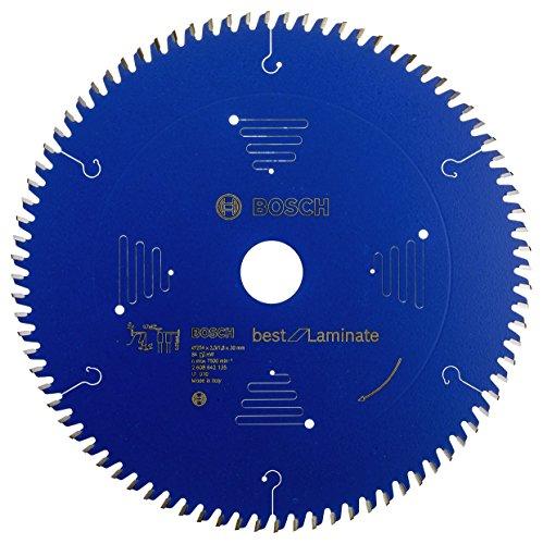 Bosch Professional 2608642135 Kreissägeblatt Best for Laminate 254 x 30 x 2.5/1.8 mm Z84TR-F