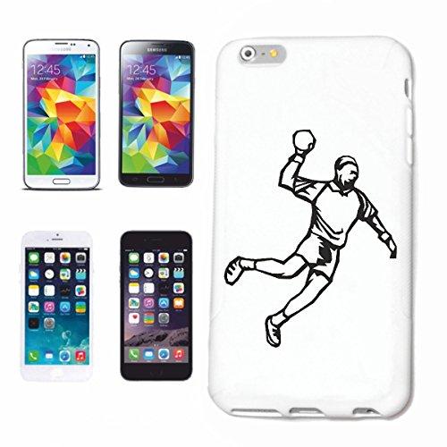Reifen-Markt Funda para teléfono móvil compatible con Samsung Galaxy S4 Mini, balonmano, fútbol, voleibol, baloncesto, etc.