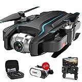 ZHCJH Drone HD 4K Camera, GPS Tempo di Volo di 40 Minuti, Drone con videocamera 1080P HD con Follow...