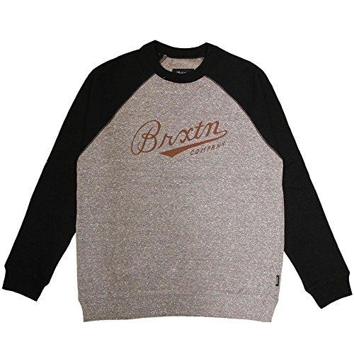 Brixton Fenway Sweatshirt Grey Black