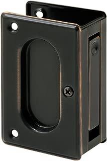 Slide-Co 164510 Pocket Door Passage Pull, 3-3/4-Inch, Classic Bronze
