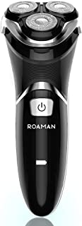 ROAMAN Electric Shaver Electric Razor for Men Cordless Rechargeable 100% Waterproof IPX7 Wet &...