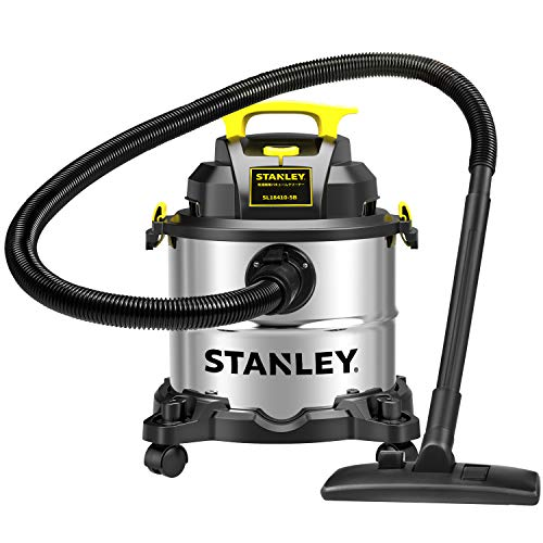 STANLEY(スタンレー) 業務用掃除機 集じん機 乾湿両用 バキュームクリーナー ブロワー機能 20L 家庭用 強力 紙パック付き SL18410-5B
