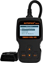 AUTOPHIX ES610 Obd2 Scanner Code Reader Auto Diagnostic Tool for Volvo Engine ABS SRS Airbag Transmission Systems